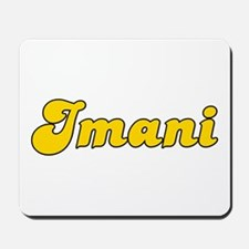 Retro Imani (Gold) Mousepad