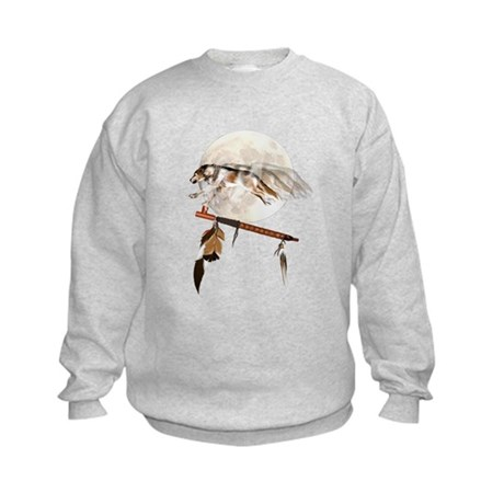Running Wolf Kids Sweatshirt