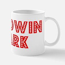 Retro Baldwin Park (Red) Mug