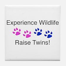 Experience Wildlife Raise Twi Tile Coaster