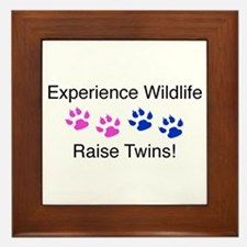 Experience Wildlife Raise Twi Framed Tile