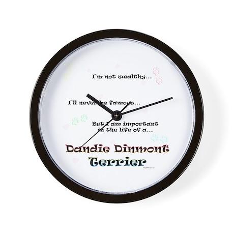 Dandie Dinmont Life Wall Clock