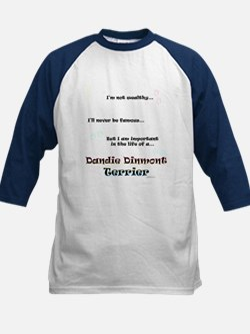 Dandie Dinmont Life Kids Baseball Jersey
