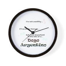 Dogo Life Wall Clock