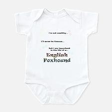 English Fox Life Infant Bodysuit