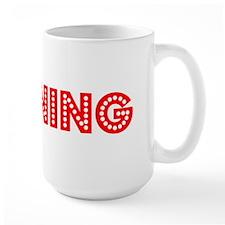 Retro Banning (Red) Mug