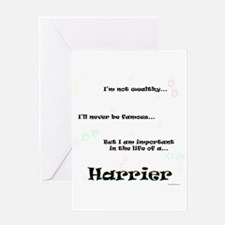 Harrier Life Greeting Card