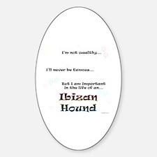 Ibizan Life Oval Decal