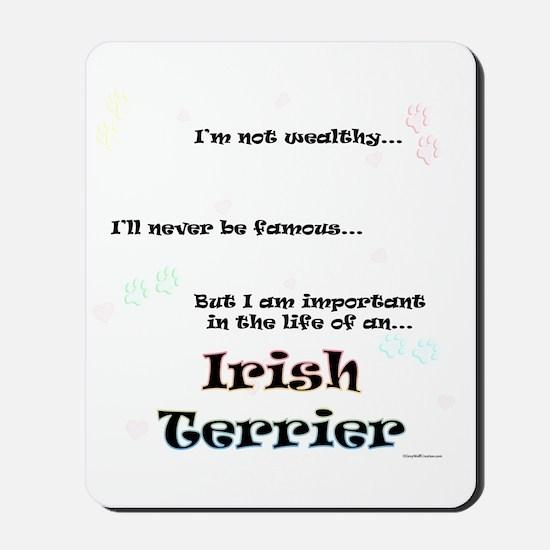 Irish Terrier Life Mousepad