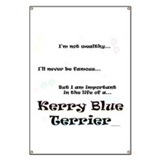 Kerry Blue Life Banner