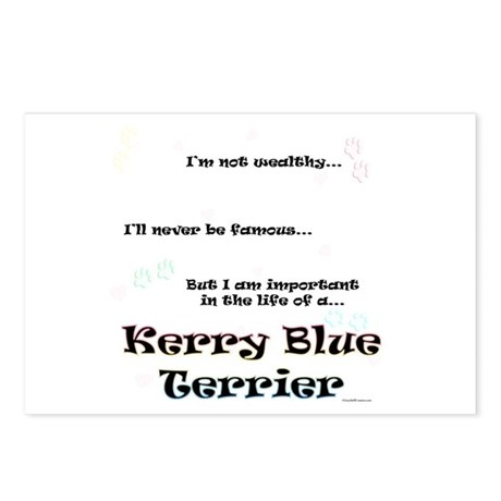 Kerry Blue Life Postcards (Package of 8)