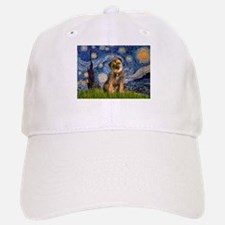Starry Night / Border Terrier Baseball Baseball Cap