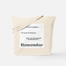 Komondor Life Tote Bag