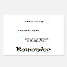 Komondor Life Postcards (Package of 8)