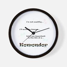 Komondor Life Wall Clock