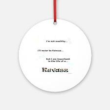 Kuvasz Life Ornament (Round)