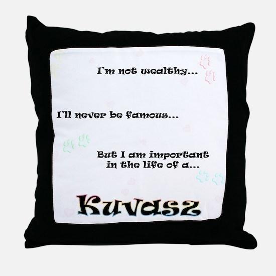 Kuvasz Life Throw Pillow