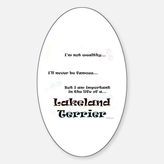 Lakeland Life Oval Decal