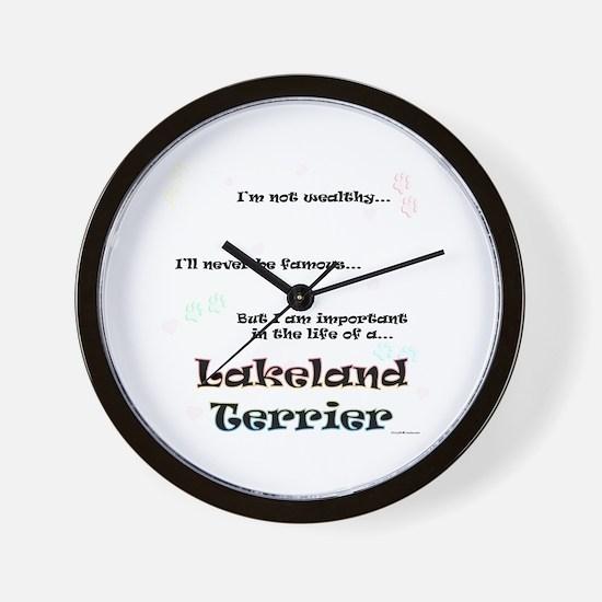 Lakeland Life Wall Clock