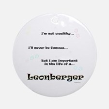 Leonberger Life Ornament (Round)