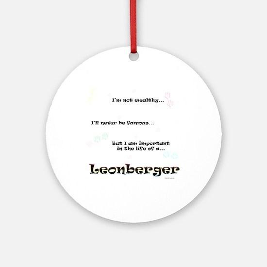 Leonberger Life Ornament (Round)