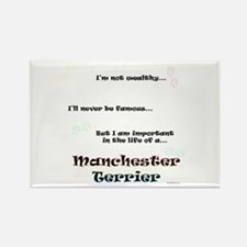 Manchester Life Rectangle Magnet