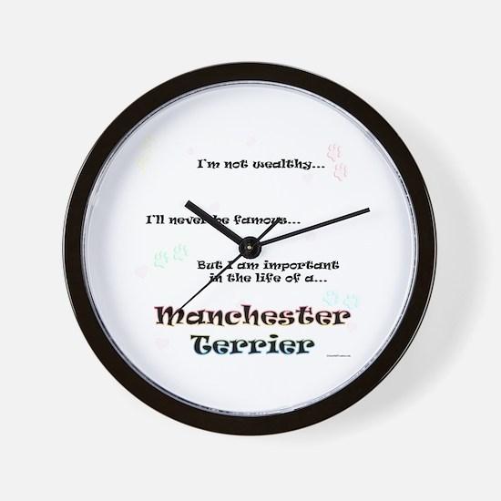 Manchester Life Wall Clock