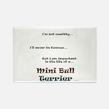 Mini Bull Life Rectangle Magnet (100 pack)