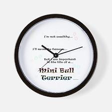 Mini Bull Life Wall Clock