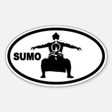 SUMO Oval Decal