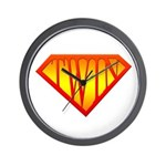 Supertwin Wall Clock