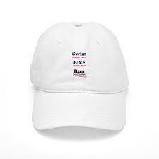 Triathlon Daddy Baseball Cap