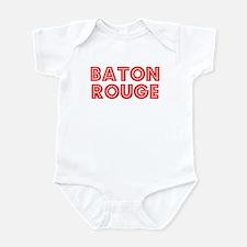 Retro Baton Rouge (Red) Infant Bodysuit