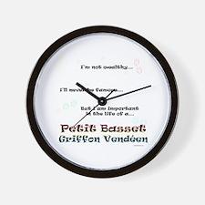 PBGV Life Wall Clock
