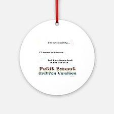 PBGV Life Ornament (Round)