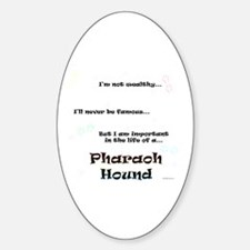 Pharaoh Life Oval Decal
