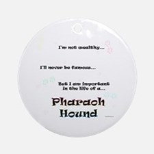 Pharaoh Life Ornament (Round)