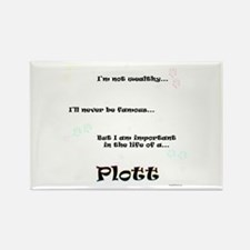 Plott Life Rectangle Magnet (100 pack)