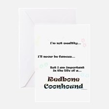 Coonhound Life Greeting Card