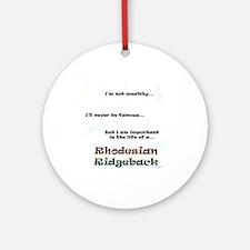 Ridgeback Life Ornament (Round)