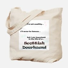 Deerhound Life Tote Bag