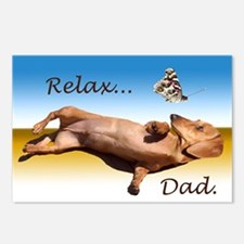 Relax Dad Postcards (Package of 8)