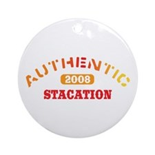 Authentic 2008 Stacation Ornament (Round)