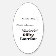 Silky Life Oval Decal
