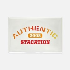 Authentic 2008 Stacation Rectangle Magnet