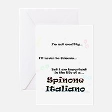 Spinone Life Greeting Card