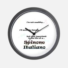 Spinone Life Wall Clock