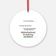 Griffon Life Ornament (Round)