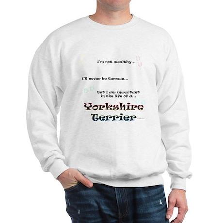 Yorkie Life Sweatshirt