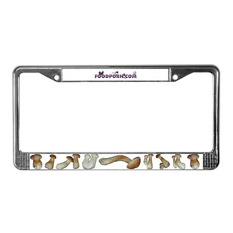 Porcini License Plate Frame
